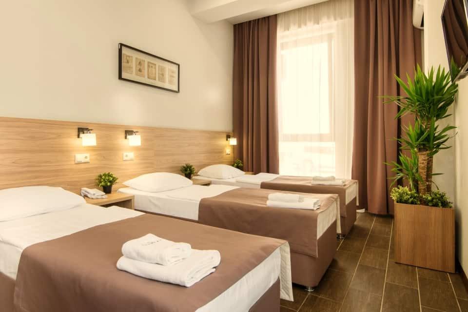 Номер Семейный отель Пеликан в Краснодаре
